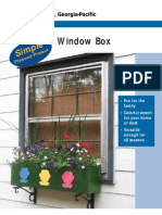 Plywood Window Box