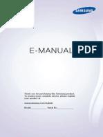 Manual TV Sansumg UN40F5500