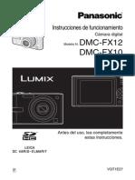 Camara Panasonic DMCFX12-SP