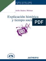 Suárez, Rodolfo - Explicación Histórica y Tiempo Social