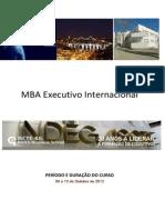 Lisboa Gestao de Negocios  MBA