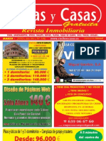 Revista Casas y Casas Marzo 2010