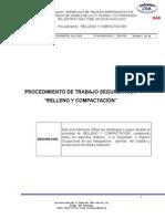 CSM-PTS-009 - Relleno y Compactación