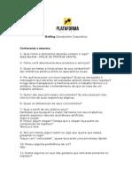 Plataforma Design Briefing Logotipo