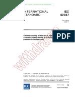 IEC 62337 - Comisionamiento