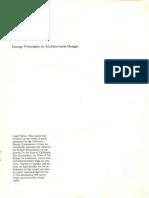 Energy Principles Architectural Design
