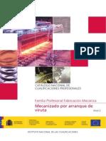 Cualificacion Mecanizado Arranque de Viruta