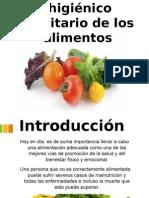 Controlo sanitario de los alimentos