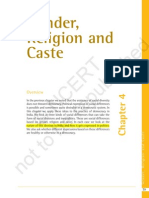 gender,religion and caste