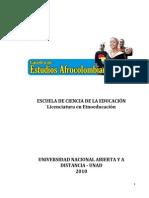 Modulo de Catedra de Estudios Afrocolombianos