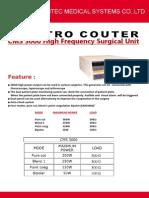 Electro Cauter Cms3000
