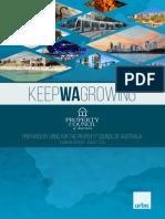 Keep WA Growing Report