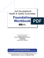 JHSC Responsibilities Workbook
