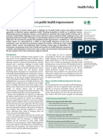 A New Wave on Public Health Improvement - Lancet