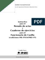 Instructivo y Cuaderno de Ejercicios(Concurrente 2 Coaliciones)