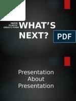 Presentasi Tentang Presentasi Simple