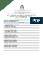 Horario 2 Tercer Bimestre 2015