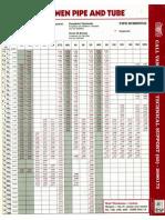 Van Leeuwen - Pipe Schedule
