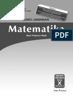 Kunci Jawaban, Silabus Dan RPP PR MAT 10B WAJIB 2014