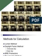 Daylighting CALCULATIONS._Kroelinger, Mike