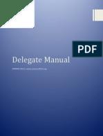 Delegate Manual COMUN 2015