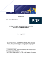 Istraživanje - Zov Rata u Siriji i Bosanskohercegovački Kontingent Stranih Boraca