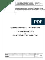 Pte 15 Lucrari de Retele Cu Conducta de Fonta Ductila