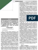 Reglamento Del Procedimiento de Transferencia de Funciones Del INDECOPI a SUSALUD