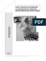 U.S. Einsatzmittel für Chemische Kampfstoffe während des Kalten Krieges