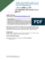 Mengakses Database Access Dengan Delphi 7 Ilkom1
