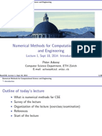 Arbenz Peter,Numerical Methods for Computational Science and Engineering