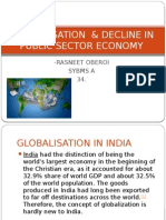 Globalisation & Decline in Public Sector Economy-34