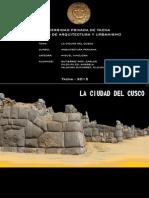 La Ciudad Del Cusco colonial