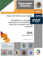 SSA 011 08 GRR Pancreatitis Aguda