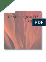 Gender Equality Guide
