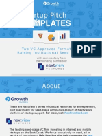 Pitch Deck Templates for Seed Capital - NextView Ventures