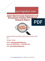 Japan Spectroscopy Equipment and Accessories Industry 2015 Market Research Report