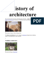 History of Architecture2014
