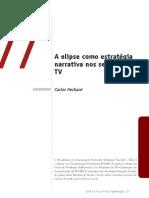 A elipse como estratégia narrativa nos seriados de TV Carlos Gerbase