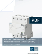 SENTRON Residual Current Protective Devices AFDDs Complete English 10 2014 201502111453105536