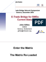 ITC E-Trade Bridge Network Symposium Geneva, December