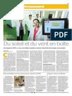 IJD 2015 - Tribune de Genève and 24 Heures - Switzerland - Full supplement