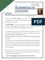 Company AMendment Act- 2015- Series- 82