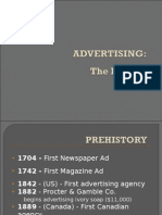 History of Advertising in Images