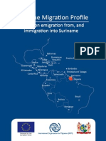 Suriname Migration Profile - A study on emigration from, and immigration into Suriname