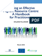 Running Effective Migrant Resource Centre - A Handbook for Practitioners