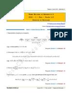 Proposta de Resolução Do Exame Nacional de Matemática a - 1.ª Fase de 2015