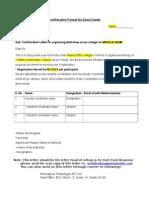 Format of Confirmation Letter (1)