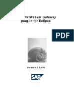 SAP NetWeaver Gateway Plug-In for Eclipse