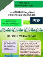 MUDARABAH (مضاربة)
